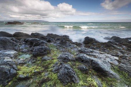 Rocky North Ireland landscape
