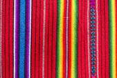 Handmade traditional guatemalan fabric
