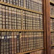 Old books in the Library of Stift Melk, Austria....