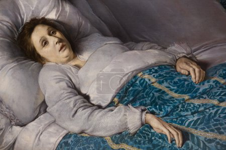 Woman on her Deathbed