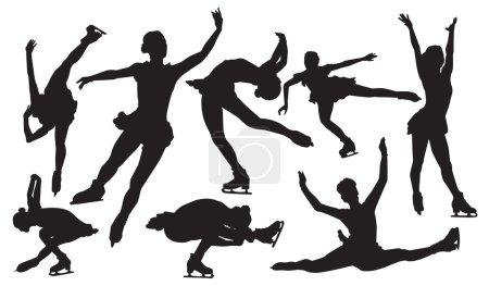 Figure Skater vector