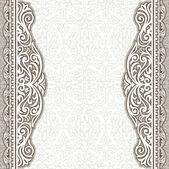 Vintage background design elegant book cover victorian style invitation card