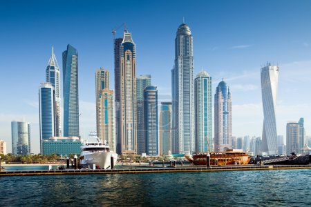 Photo pour Luxueux Résidences à Dubai Marina, EAU - image libre de droit