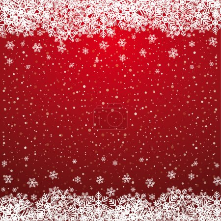 Fall snowflake snow stars red white background...