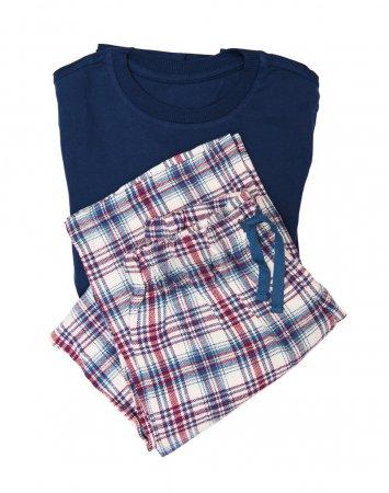 Photo pour Pyjama isolé sur fond blanc - image libre de droit