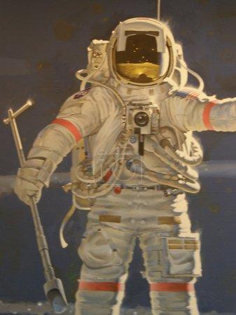Photo pour Musée national de l'air et de l'espace à Washington DC - image libre de droit
