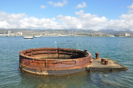 USS Arizona Memorial at Pearl Harbor, Hawaii