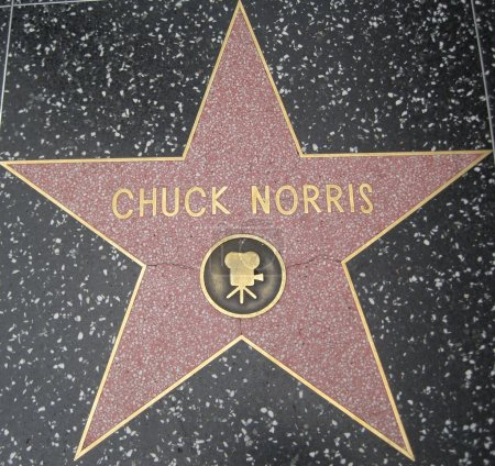 Chuck Norris Star at the