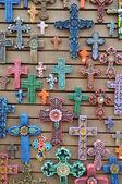 Mexické řemeslné výrobky se prodávají ve starém městě, San Diego v Kalifornii