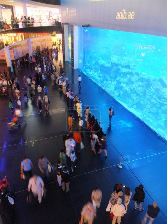 Aquarium at Dubai Mall in Dubai, UAE