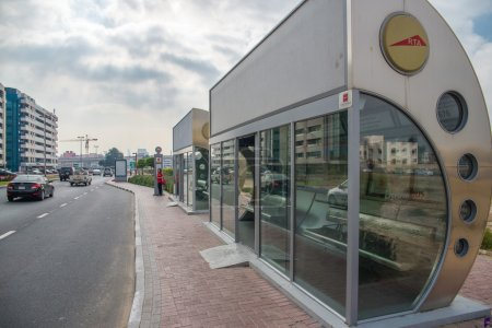 Conditioned bus stop