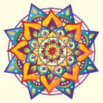 Vector illustrated mandala...