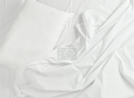 bedding sheets and pillow sleep bed