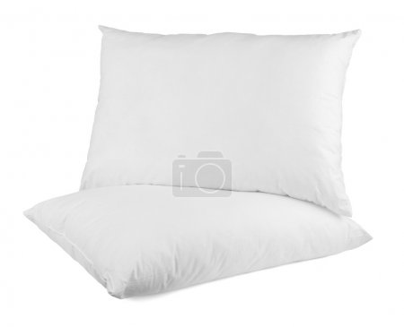 Photo for Close up of a pillow on white background with clipping path - Royalty Free Image