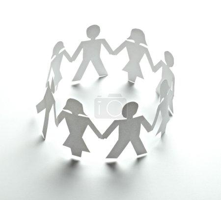 paper cutout connection community
