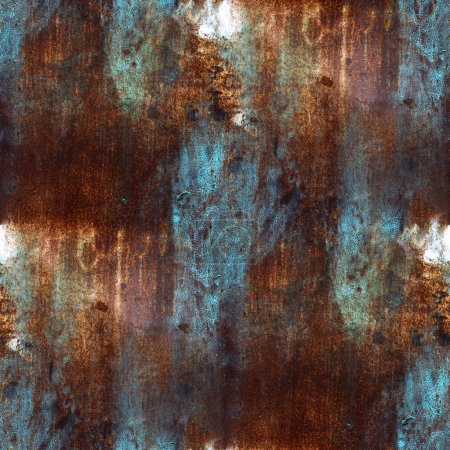 rusty blue brown iron seamless background seamless background