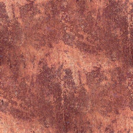 Pattern grunge rusty metal brown rust seamless texture backgroun