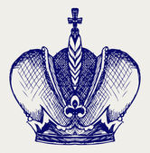 Crown Doodle style