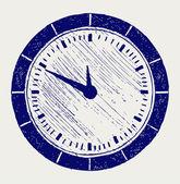 Clock Doodle style