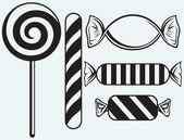Icons set candies