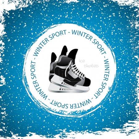 Winter sport background
