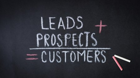 Leads, prospects, customers formula