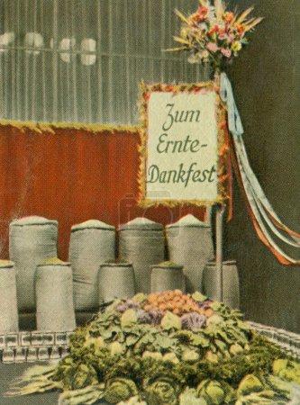 Vintage german cigarette card
