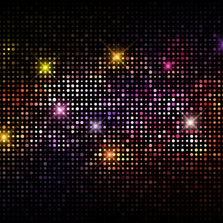 Photo for Abstract background with a disco lights design - Royalty Free Image