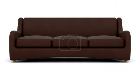 Photo for 3d render of contemporary sofa - Royalty Free Image