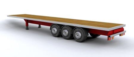 heavy goods trailer