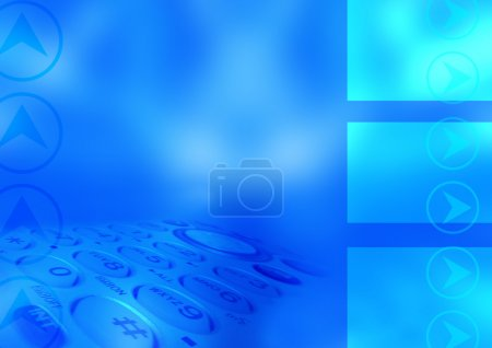 Photo for Abstract communication background - Royalty Free Image