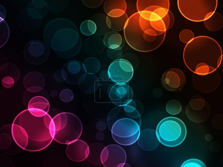 Photo for Abstract background with bokeh light effects - Royalty Free Image