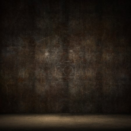 Photo for Grunge style image of a dark interior - Royalty Free Image