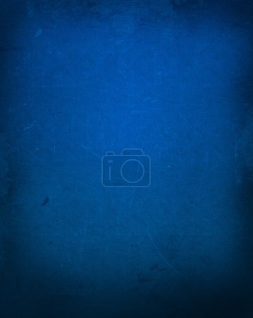 Photo for Blue grunge background with a leather texture - Royalty Free Image