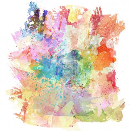 Photo for Abstract background with watercolour splash effect - Royalty Free Image