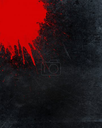 Photo for Grunge background with blood splatter - Royalty Free Image