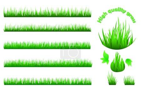 High quality grass set