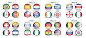Kolekce národních vlajek
