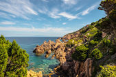 Costa paradiso sardinia sea landscape