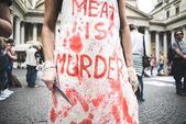 269 Leben Manifestation in Mailand am 26. September 2013