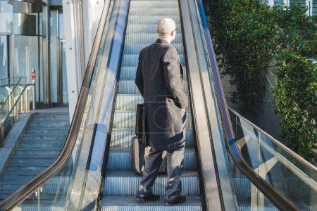 Successful elegant fashionable businessman