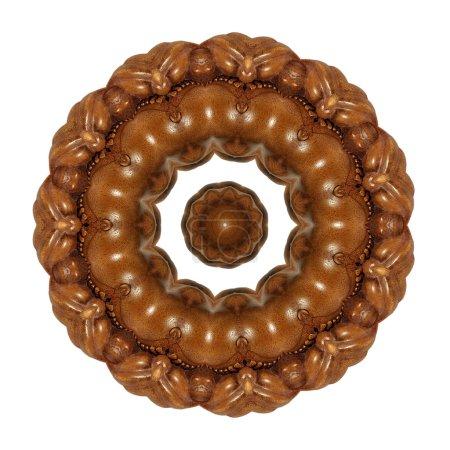 Wooden wonder - interlaced circle