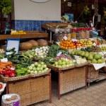 Madeira island, farmers market...