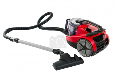Vacuum cleaner isolated on the white background...