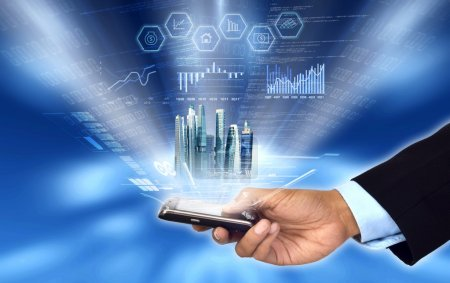 Accessing & Controlling business from smartphone