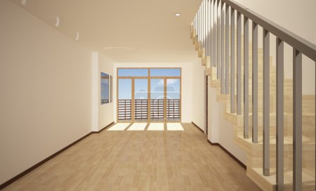 Photo for Interior of a modern house. - Royalty Free Image
