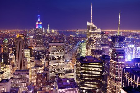 Photo for New York City viewed from above. - Royalty Free Image