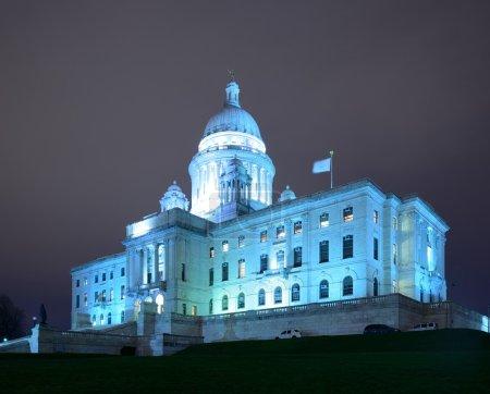 Photo pour Rhode island state house de providence, rhode island. - image libre de droit