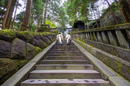 Shinto Priests at Toshogu shrine