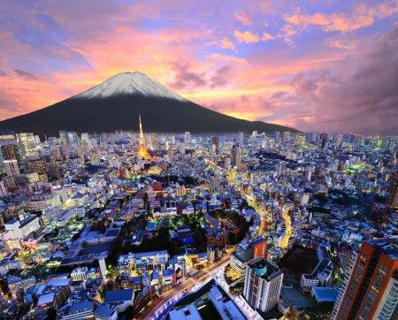 Tokyo et Fuji